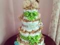 baby lion diaper cake