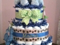 puppy diaper cake