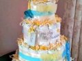you are my sunshine diaper cake