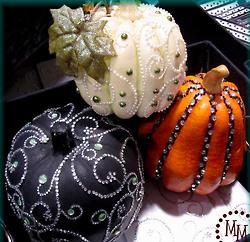 Swirly Jewel Pumpkin