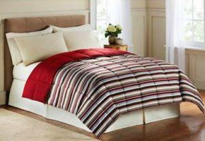 Bon Ton All Sizes Reversible Down Alternative Comforter