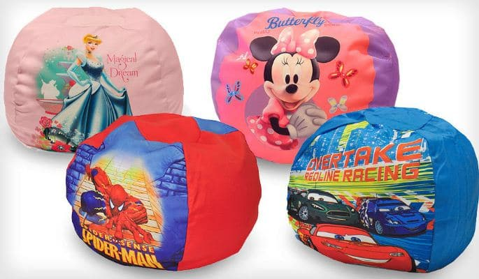Character Bean Bag Chairs 25 Shipped Minnie Mouse Cars