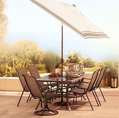 Sonoma Coronado 7 Piece Outdoor Dining Set Only $275.95! | Saving By Design