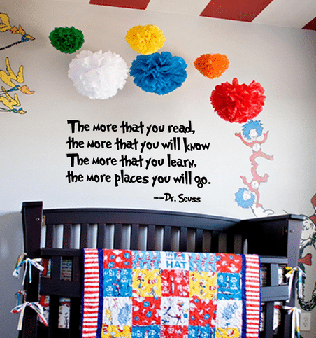 Dr. Seuss the More You Read Quote