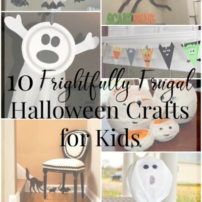 10 Frightfully Frugal Halloween Crafts for Kids