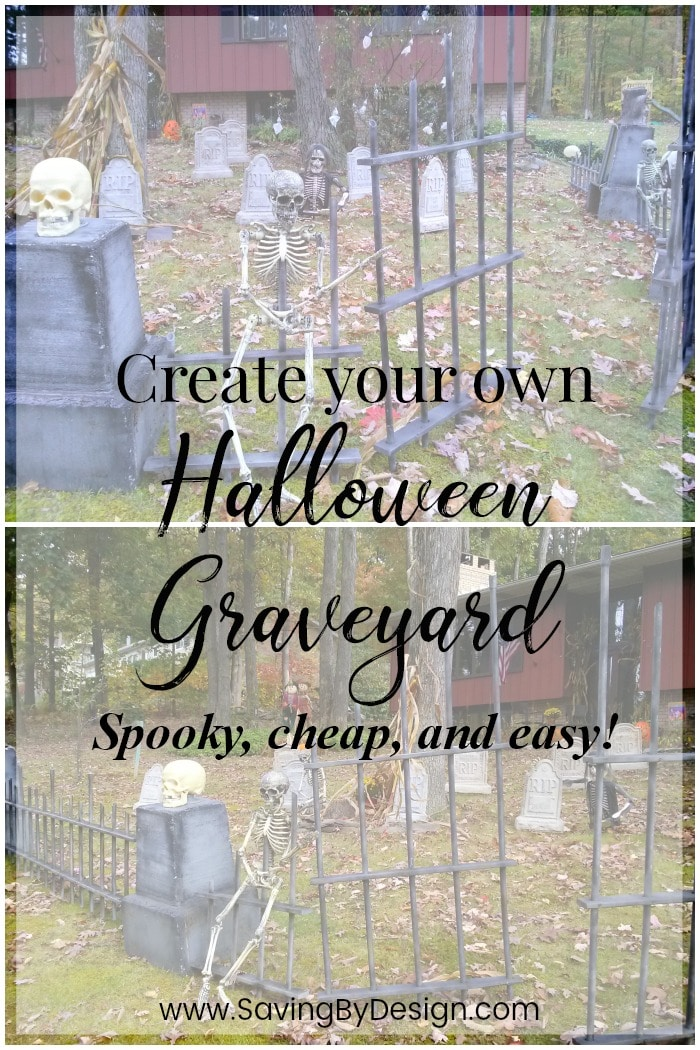 Outdoor Halloween Decorations Make A Diy Halloween Graveyard