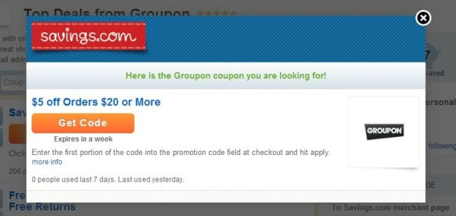 Groupon is an online marketplace offering deals on anything and everything. They feature high quality in demand products, local restaurants and businesses. Groupon provides their customers with a personalized shopping experience.