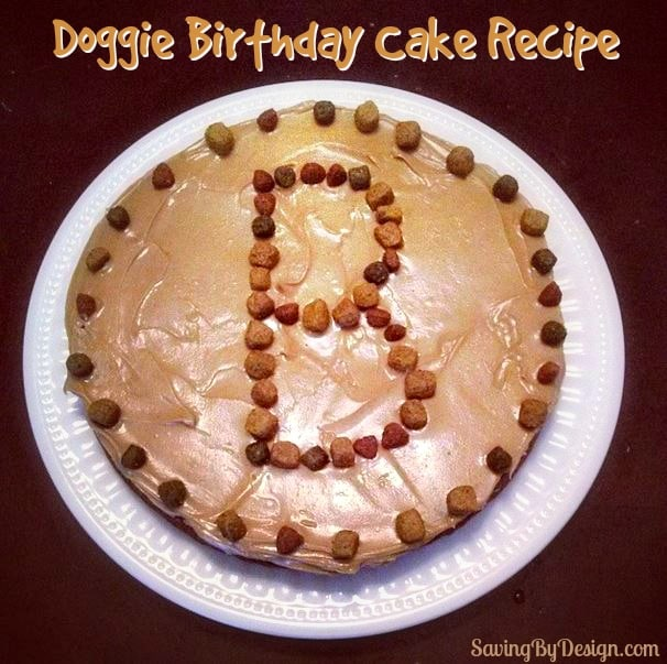 Dog Birthday Cake Recipe How To Make A Dog Cake The Easy Way