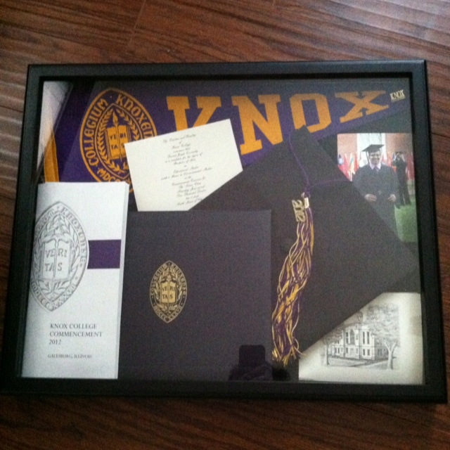 graduation shadow box gift