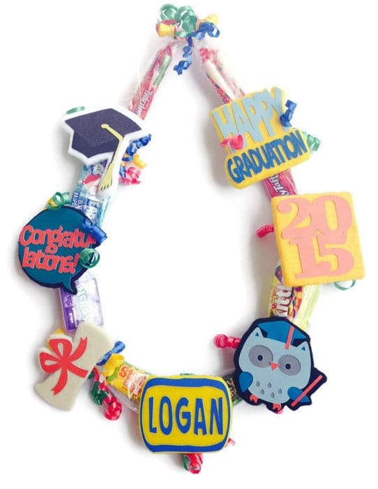 kindergarten graduation gifts - candy lei