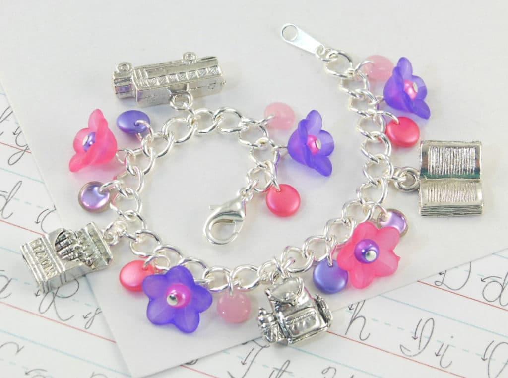 preschool graduation charm bracelet