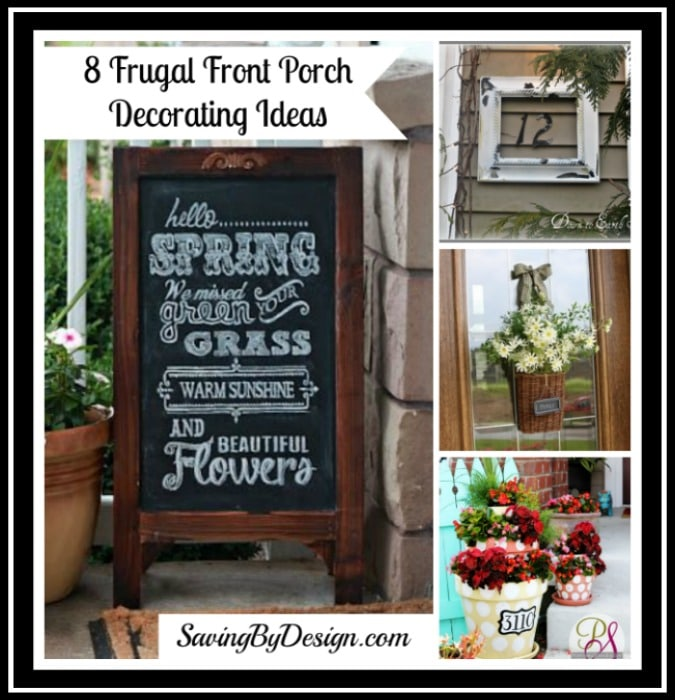 Frugal Home Decor: 8 Frugal Front Porch Decorating Ideas