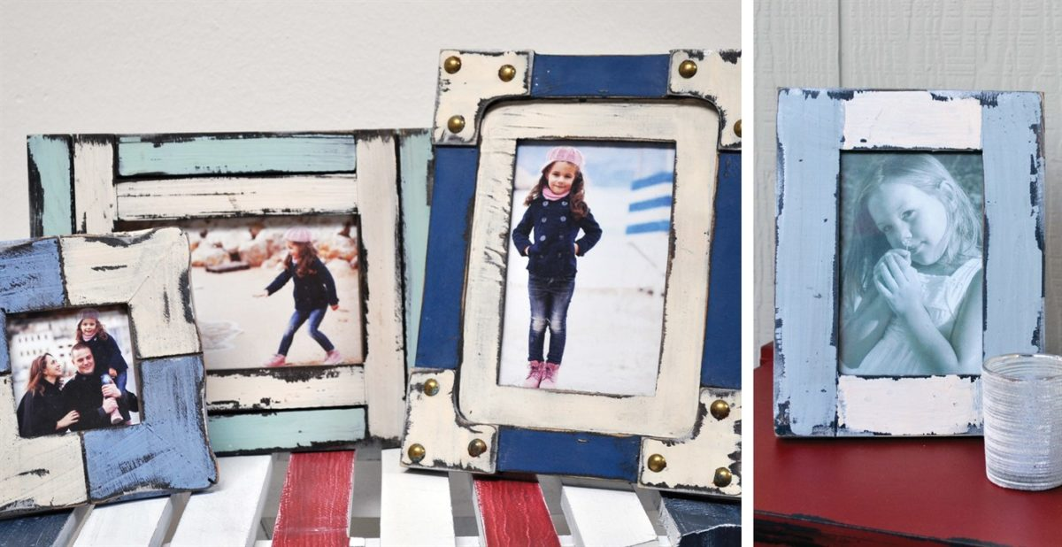 Shabby Chic 4X6 Picture Frames for $6.99