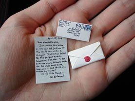 tooth fairy tiny letter