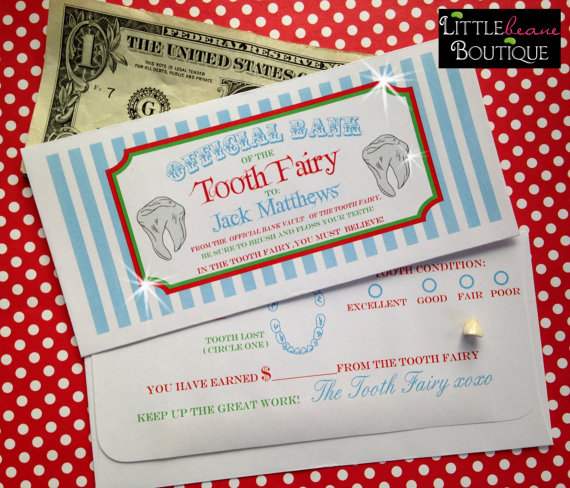 tooth fairy envelope