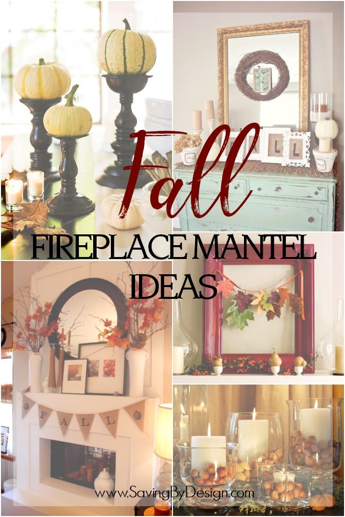 10 Fall Fireplace Mantel Ideas To Celebrate The Beauty Of