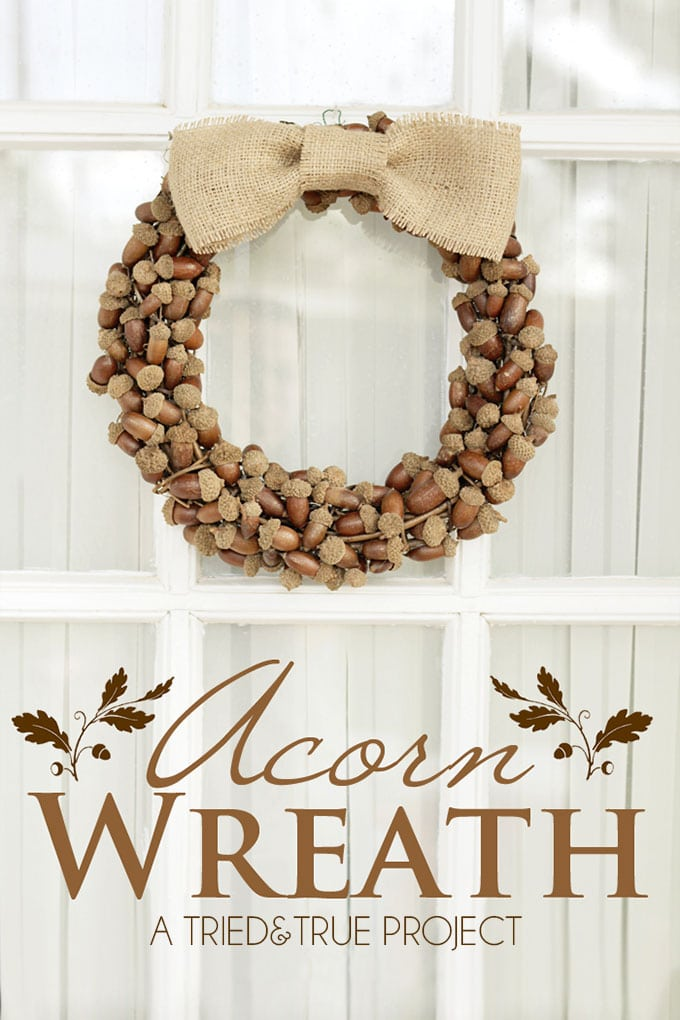 These acorn crafts are super easy and allow you to decorate your home for fall on a tight budget. Involve the whole family for a day of fall fun :)