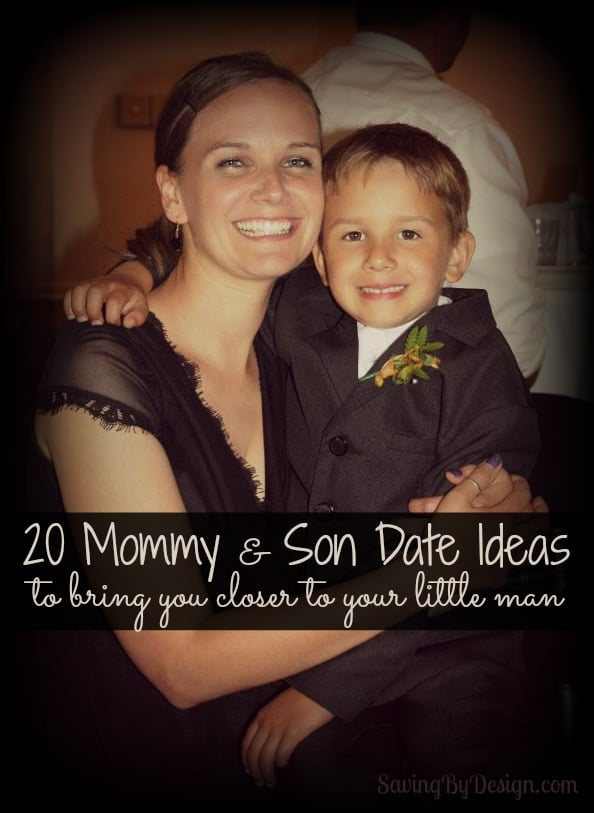 mommy & son date ideas