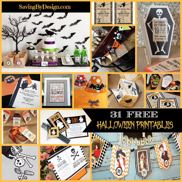 graphic regarding Halloween Signs Printable named 31 No cost Halloween Printables Invites, Indications, Banners