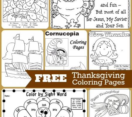 Keep the kiddos entertained and in the holiday spirit with these 10 FREE Thanksgiving Coloring Pages.