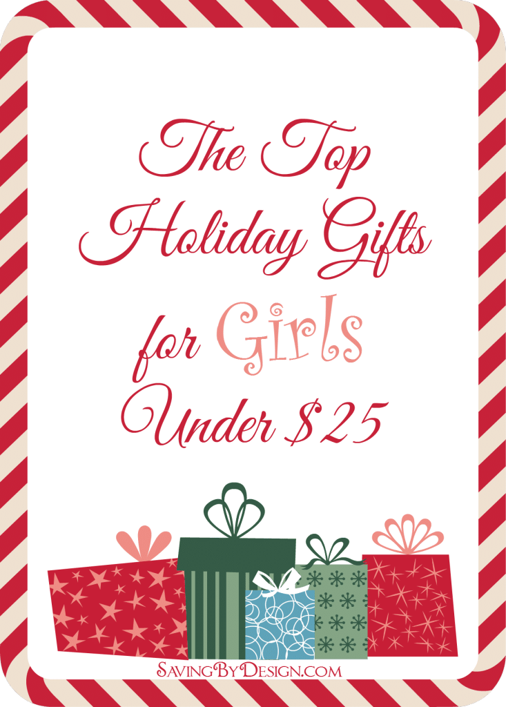 Top Gifts For Girls Under 25 Saving By Design