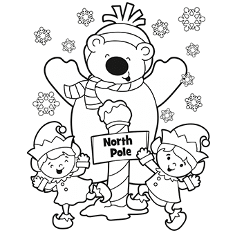 10 FREE Christmas Coloring Pages | Saving by Design