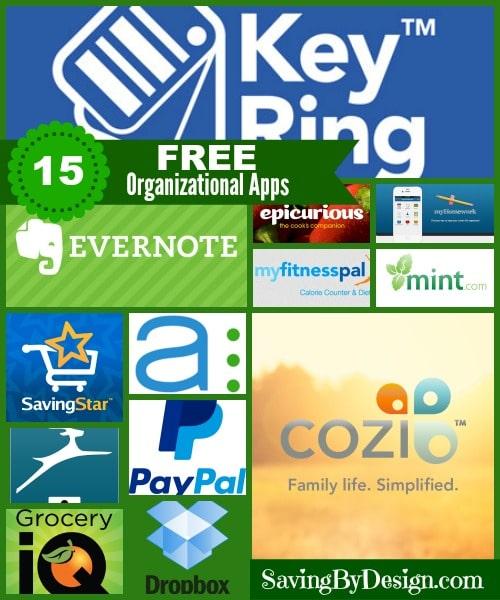 15 FREE Organizational Apps