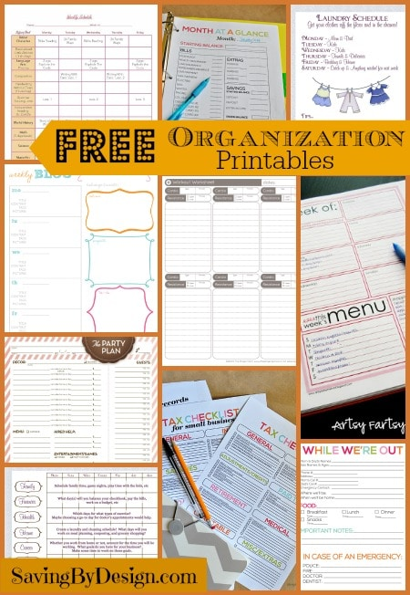 picture regarding Free Organization Printables identified as Free of charge Company Printables Conserving by means of Layout