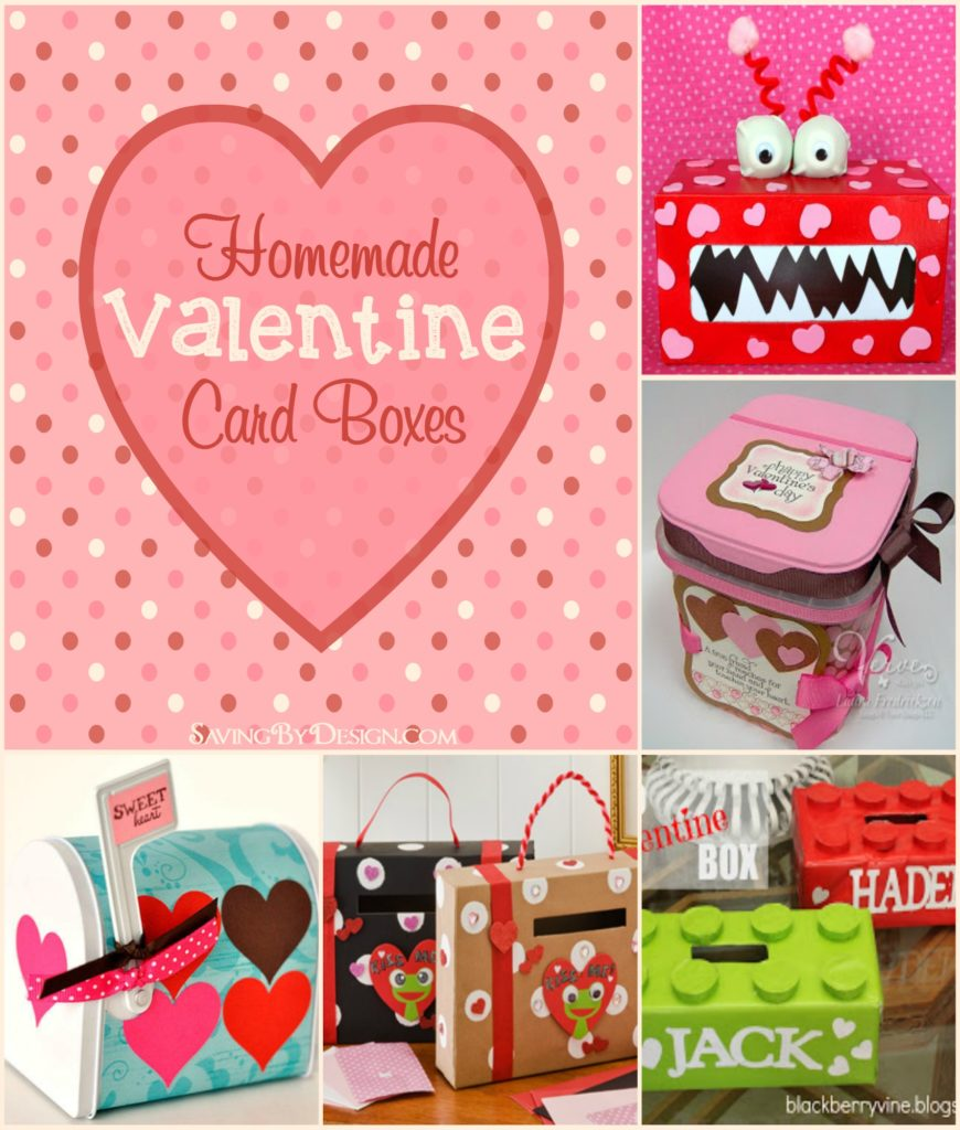 8 Homemade Valentine Card Boxes Perfect