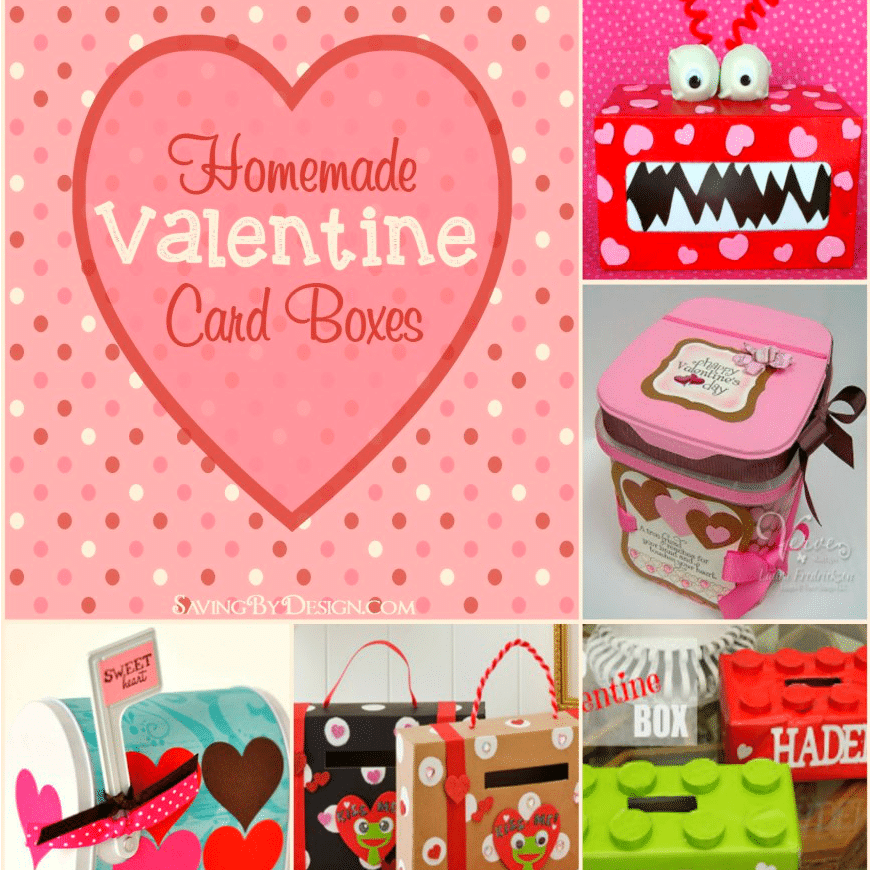 8 Homemade Valentine Card Boxes Perfect for Holding Cards and – Valentine Card Boxes
