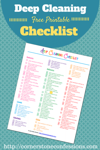 Spring is on the way! These 10 FREE Spring Cleaning Printables are just what you need to tackle all of your household chores and spiffy up your home.