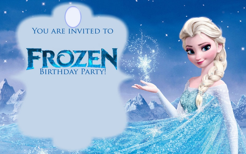 Frozen Birthday Invites is an amazing ideas you had to choose for invitation design