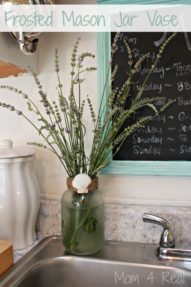 mason jar kitchen decor