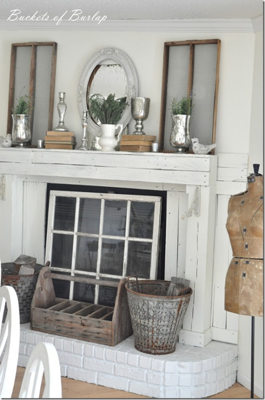 10 Fabulous Fireplace Mantel Ideas For Summer Saving By Design