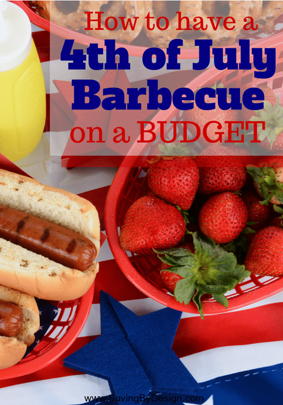 With these tips anyone can host a 4th of July barbecue on a budget. Add some patriotic pop to your party without sending your budget up in smoke!