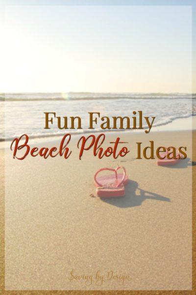 Creative Beach Family Photos for Your Next Vacation