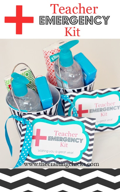 teacher gift - teacher emergency kit
