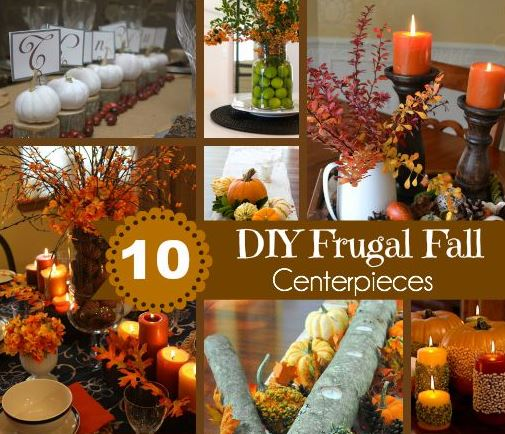 10 Frugal Fall Centerpieces to Create the Perfect Tablescape