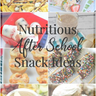 After School Snacks That Are Both Nutritious and Delicious