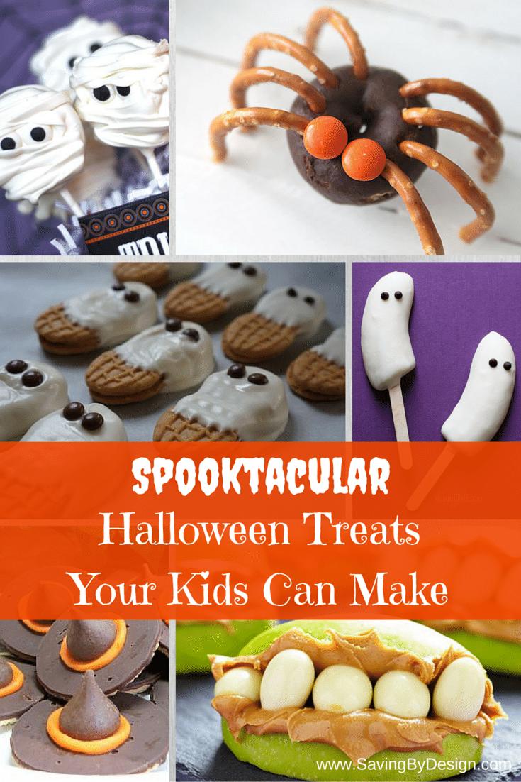 Halloween Treats Your Kids Can Make