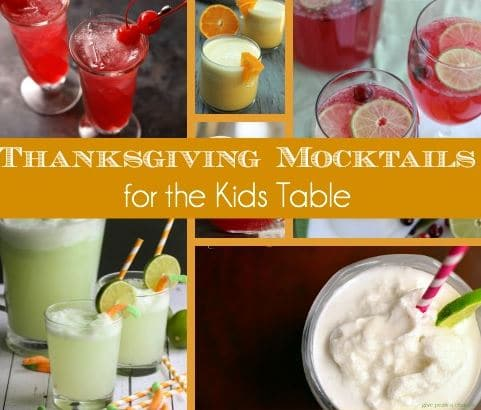 Thanksgiving mocktails