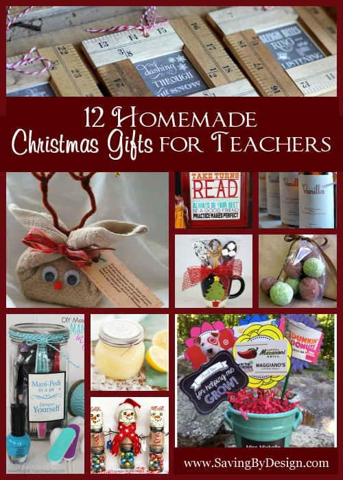 which of these 12 homemade christmas gifts for teachers will you be making they are easy to make super fun and guarantee to put a smile on your teacher