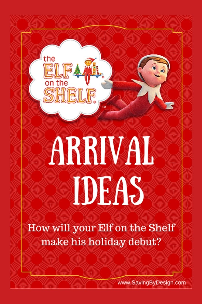 4 Fabulous Elf on the Shelf Ideas for Arrival | Saving by ...