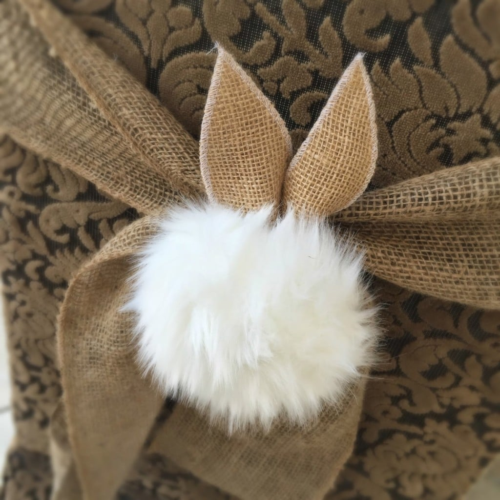 peter cottontail chair tie
