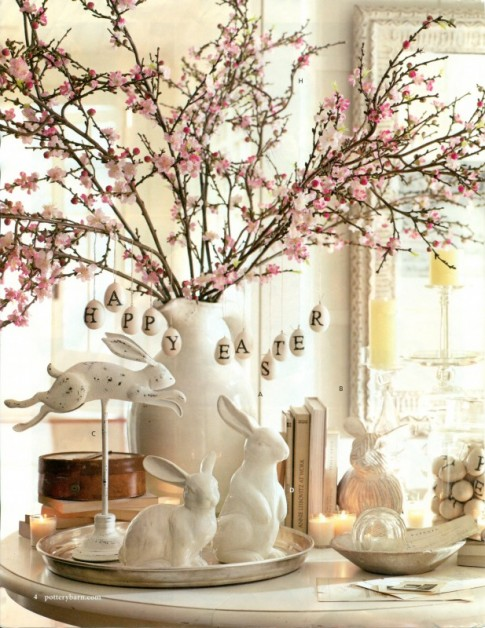 cherry blossom centerpiece