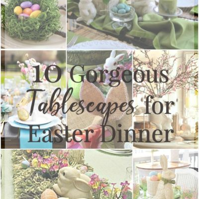 10 Easter Table Decorations – Gorgeous Tablescapes for Easter Dinner