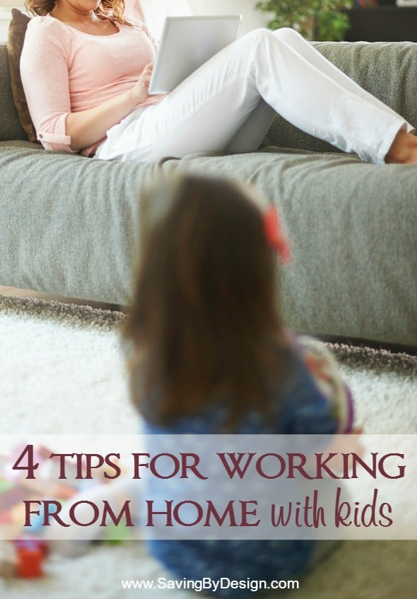 20738dbe054 Balancing working from home with kids can be tricky! Here are a few tips to