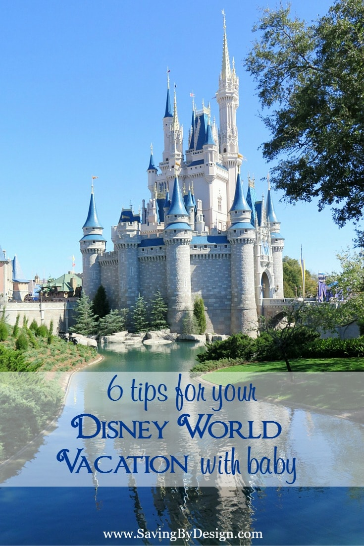 """""""Are my kids too young for Disney?"""" No way!! Here are some helpful tips for your Disney World vacation with baby!"""