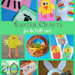These Easter crafts for the little ones will be a great way to get your home all set for Easter & teach your kids about why we celebrate it too.