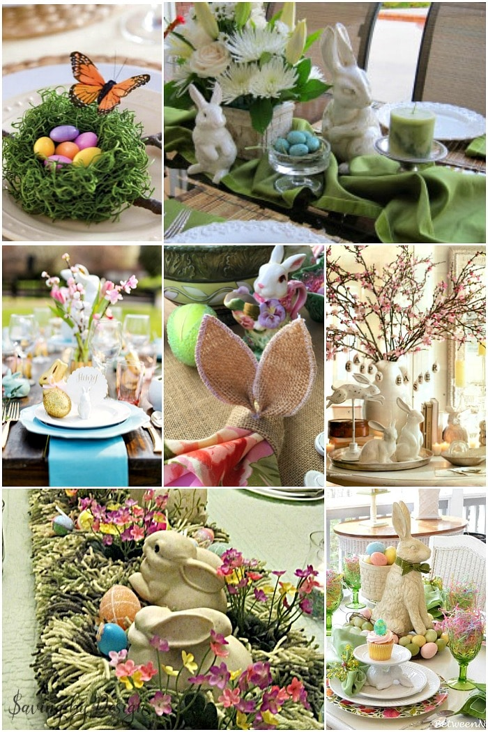 10 Easter Table Decorations Gorgeous Tablescapes For Easter Dinner